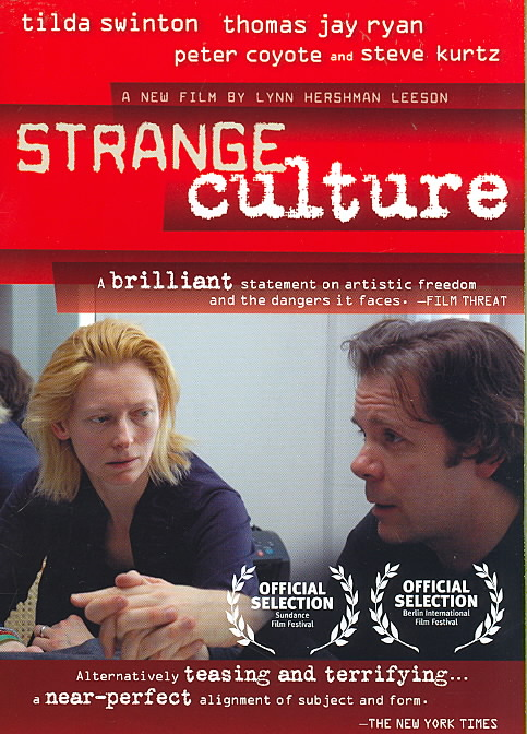 STRANGE CULTURE BY COYOTE,PETER (DVD)